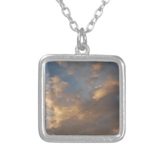 Sunset Clouds II Personalized Necklace