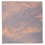Sunset Clouds II Pastel Abstract Nature Photograph Cloth Napkin