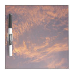 Sunset Clouds II Pastel Abstract Nature Photograph Dry-Erase Board