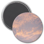 Sunset Clouds II Pastel Abstract Nature Photograph Magnet
