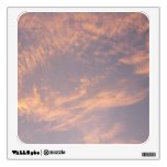 Sunset Clouds II Pastel Abstract Nature Photograph Wall Sticker