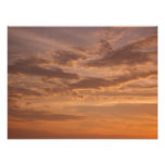 Sunset Clouds IV Pastel Abstract Nature Photograph