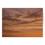 Sunset Clouds IV Pastel Abstract Nature Photograph Card