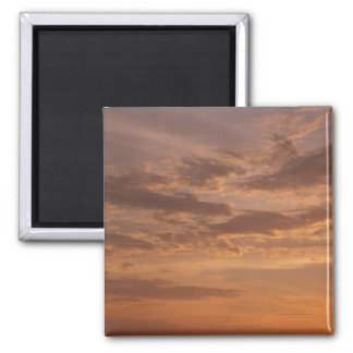 Sunset Clouds IV Pastel Abstract Nature Photograph Magnet