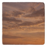 Sunset Clouds IV Pastel Abstract Nature Photograph Trivet