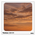 Sunset Clouds IV Pastel Abstract Nature Photograph Wall Sticker