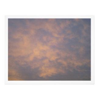 Sunset Clouds Letterhead