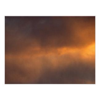 Sunset Clouds Art Photo