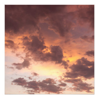 Sunset Clouds Photographic Print