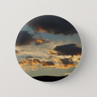 Sunset Clouds Pinback Button