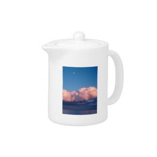 Sunset clouds teapot