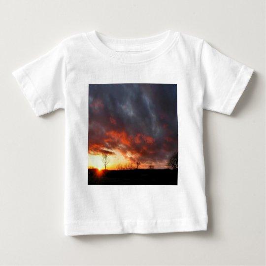 Sunset Cloudy Dusk Baby T-Shirt