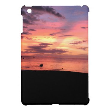 Beach Themed Sunset Coast iPad Mini Cover