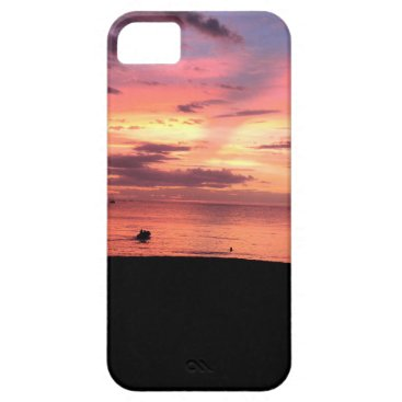 Beach Themed Sunset Coast iPhone SE/5/5s Case