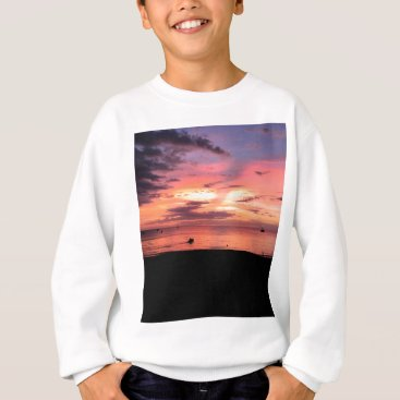Beach Themed Sunset Coast Sweatshirt