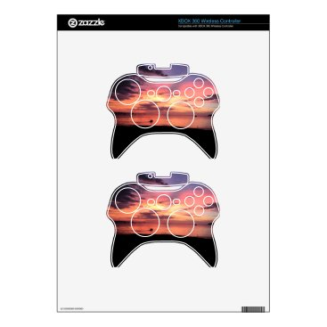 Beach Themed Sunset Coast Xbox 360 Controller Skin
