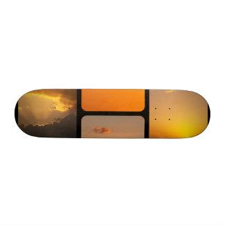 Sunset Collage Skate Boards