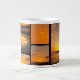 Sunset Collage Extra Large Mug