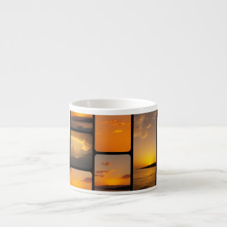 Sunset Collage Espresso Cups