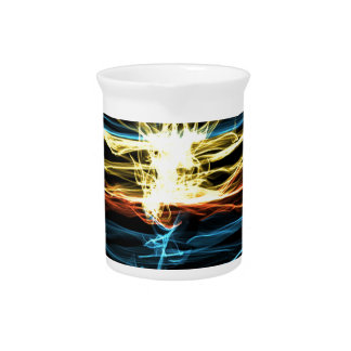 Sunset collection beverage pitcher