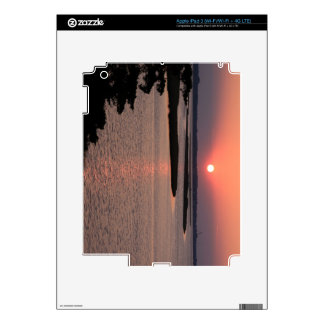 Sunset Color iPad 3 Decals