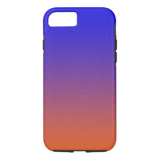 Sunset colored phone case