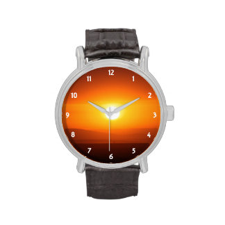 sunset colors watches