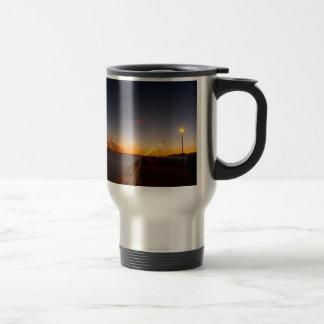 Sunset Cool Midnight City Bay Coffee Mug