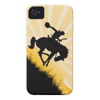 Sunset Cowboy iPhone Case