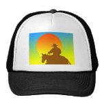 Sunset Cowboy Trucker Hat