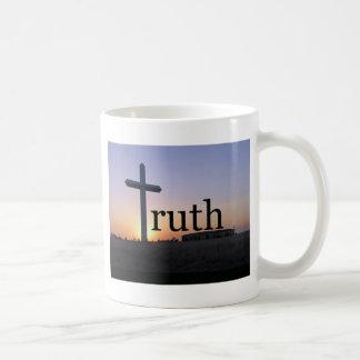 Sunset cross coffee mug