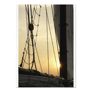 Sunset Cruise Card