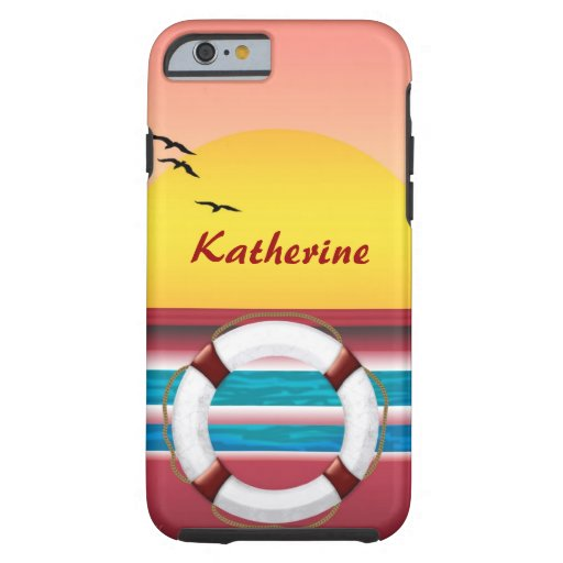 Sunset Cruise Custom iPhone 6 Case