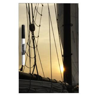 Sunset Cruise Dry-Erase Board