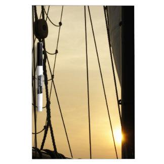 Sunset Cruise Dry Erase Boards