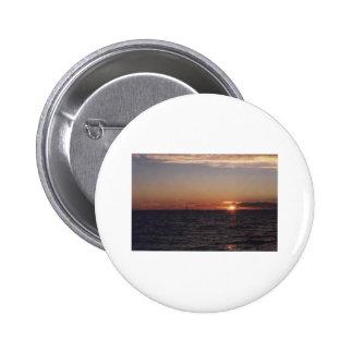 sunset.cruise pin redondo de 2 pulgadas