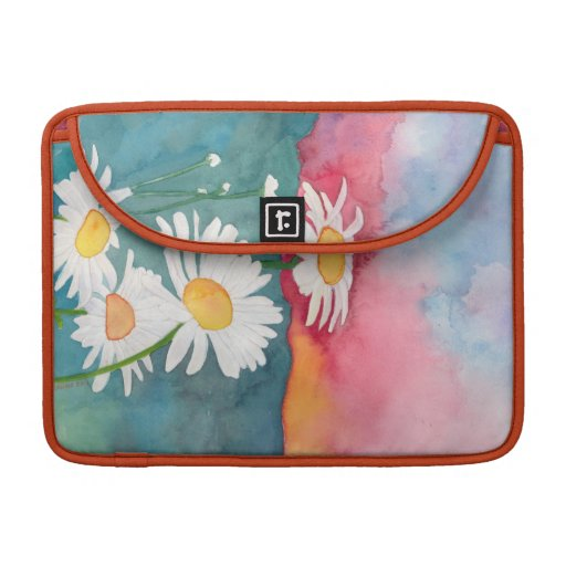 Sunset Daisy ipad sleeve Sleeves For MacBook Pro