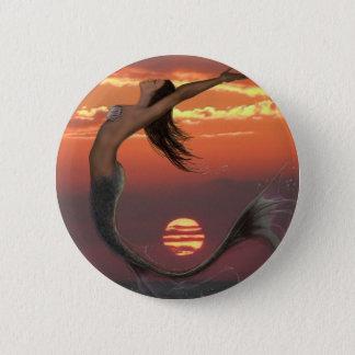 sunset dance pinback button