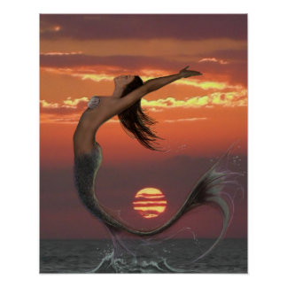 Sunset Dance Poster