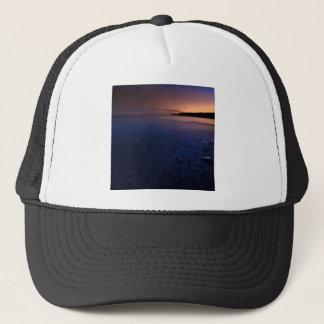 Sunset Dark Bay Trucker Hat