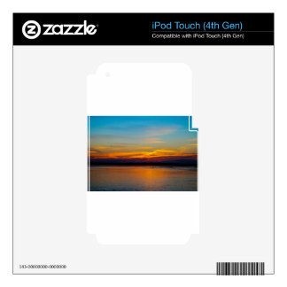 Sunset Decal For iPod Touch 4G
