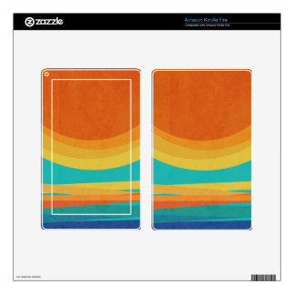 Sunset Decals For Kindle Fire