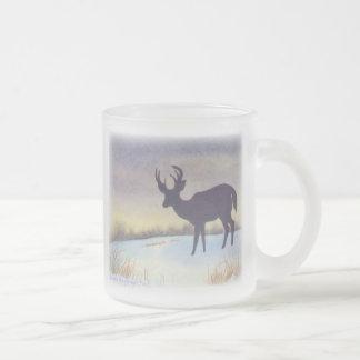 Sunset Deer Coffee Mug