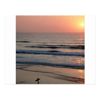 Sunset Del Mar California Postcard
