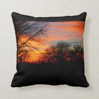 Sunset Design 1 Throw Pillow