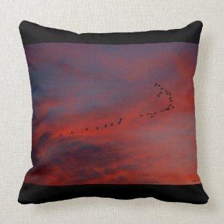 Sunset Design 4 Throw Pillow