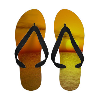 Sunset design flip flop sandels flip flops