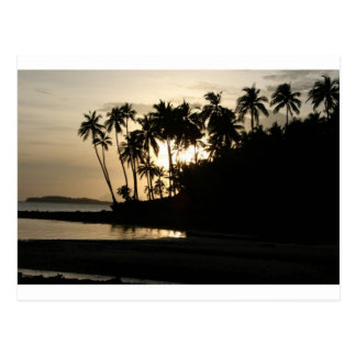 Sunset Dinagat, Philippines Postcard