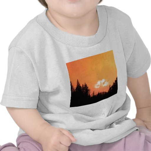 Sunset Divine Cloud At California T Shirts