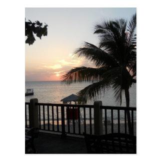 Sunset Doctor s Cave Beach Mo Bay Jamaica Postcard